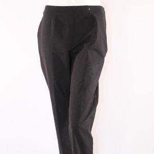 Piazza Sempione Cropped Size 8 (IT 44) Black Pants